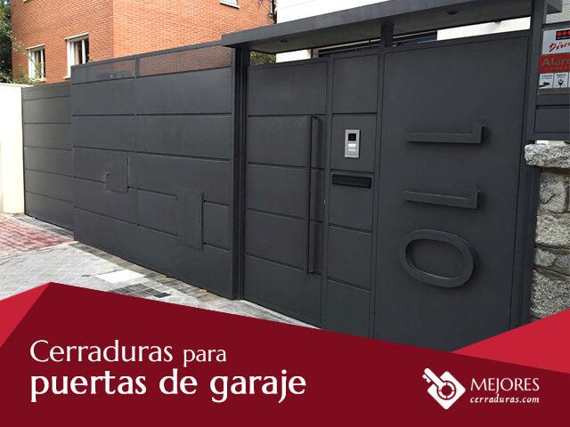 Cerraduras para puertas de garaje