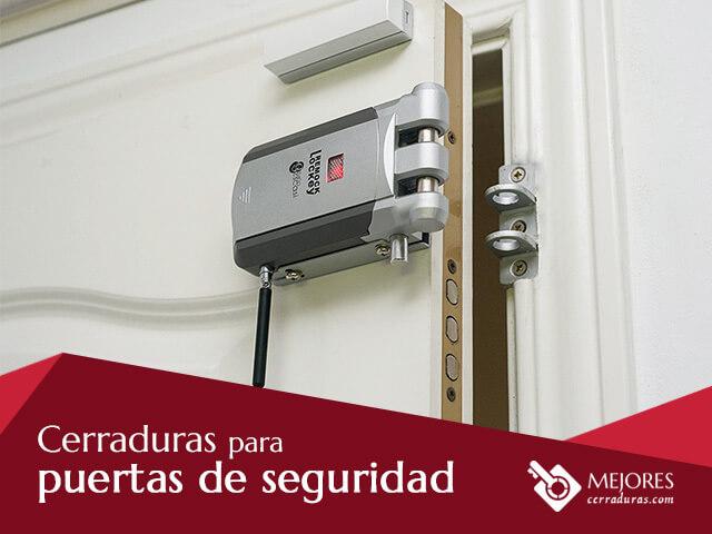cerraduras seguridad para puertas exteriores