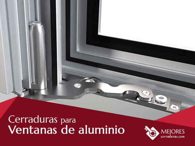 Cerraduras para ventanas de aluminio